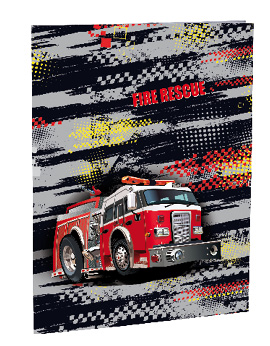 Desky na abecedu Fire fighters